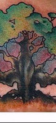 фото тату дуб (tattoo oak) (значение) – пример рисунка – 052 tatufoto.com