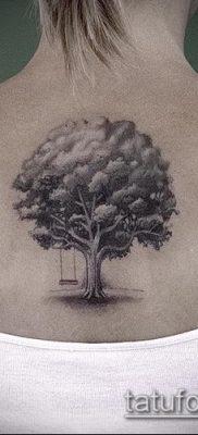 фото тату дуб (tattoo oak) (значение) – пример рисунка – 057 tatufoto.com