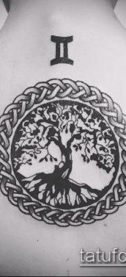 фото тату дуб (tattoo oak) (значение) – пример рисунка – 061 tatufoto.com