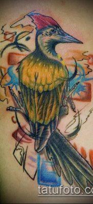 фото тату дятел (значение) – пример интересного рисунка тату – 030 tatufoto.com