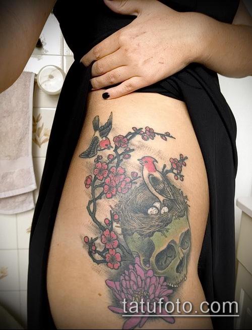 фото тату дятел (значение) - пример интересного рисунка тату - 044 tatufoto.com