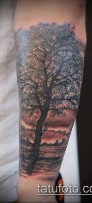 фото тату ель (tattoo spruce) (значение) – пример рисунка – 020 tatufoto.com