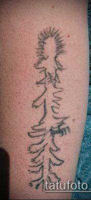 фото тату ель (tattoo spruce) (значение) – пример рисунка – 030 tatufoto.com