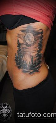 фото тату ель (tattoo spruce) (значение) – пример рисунка – 045 tatufoto.com