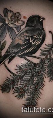фото тату ель (tattoo spruce) (значение) – пример рисунка – 047 tatufoto.com