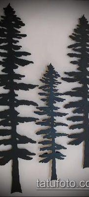 фото тату ель (tattoo spruce) (значение) – пример рисунка – 048 tatufoto.com