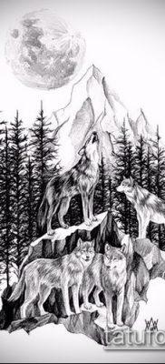 фото тату ель (tattoo spruce) (значение) – пример рисунка – 073 tatufoto.com