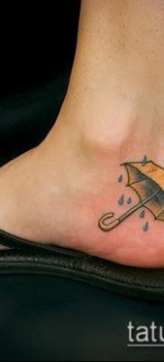 фото тату зонт (значение) – пример интересного рисунка тату – 009 tatufoto.com