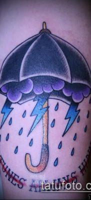 фото тату зонт (значение) – пример интересного рисунка тату – 014 tatufoto.com