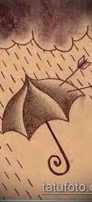 фото тату зонт (значение) – пример интересного рисунка тату – 021 tatufoto.com