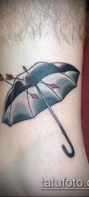 фото тату зонт (значение) – пример интересного рисунка тату – 029 tatufoto.com
