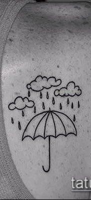 фото тату зонт (значение) – пример интересного рисунка тату – 037 tatufoto.com