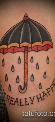 фото тату зонт (значение) – пример интересного рисунка тату – 039 tatufoto.com
