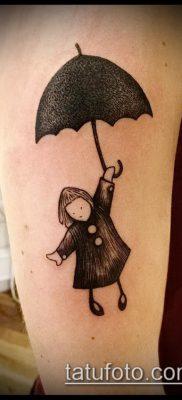 фото тату зонт (значение) – пример интересного рисунка тату – 044 tatufoto.com