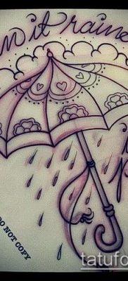фото тату зонт (значение) – пример интересного рисунка тату – 047 tatufoto.com