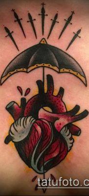 фото тату зонт (значение) – пример интересного рисунка тату – 057 tatufoto.com