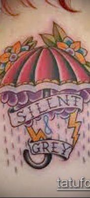 фото тату зонт (значение) – пример интересного рисунка тату – 059 tatufoto.com