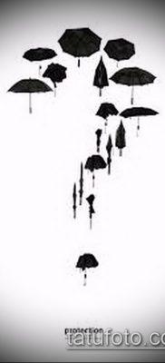 фото тату зонт (значение) – пример интересного рисунка тату – 063 tatufoto.com