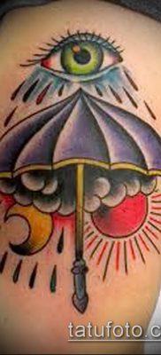 фото тату зонт (значение) – пример интересного рисунка тату – 065 tatufoto.com