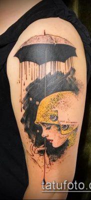 фото тату зонт (значение) – пример интересного рисунка тату – 070 tatufoto.com