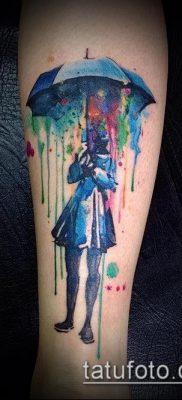 фото тату зонт (значение) – пример интересного рисунка тату – 071 tatufoto.com