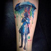 Значение тату зонт