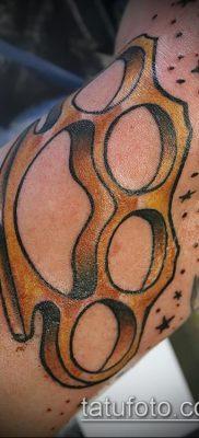 фото тату кастет (значение) – пример интересного рисунка тату – 014 tatufoto.com