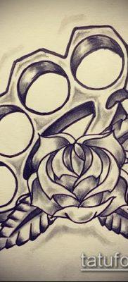 фото тату кастет (значение) – пример интересного рисунка тату – 017 tatufoto.com