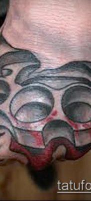фото тату кастет (значение) – пример интересного рисунка тату – 057 tatufoto.com
