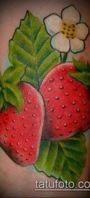 фото тату клубника (Strawberry Tattoos) (значение) – пример рисунка – 006 tatufoto.com