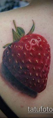 фото тату клубника (Strawberry Tattoos) (значение) – пример рисунка – 009 tatufoto.com