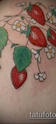 фото тату клубника (Strawberry Tattoos) (значение) – пример рисунка – 010 tatufoto.com