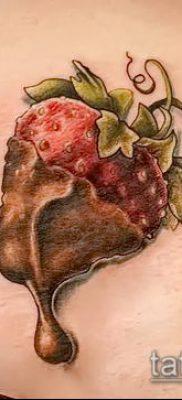 фото тату клубника (Strawberry Tattoos) (значение) – пример рисунка – 027 tatufoto.com