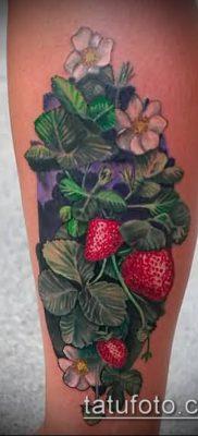 фото тату клубника (Strawberry Tattoos) (значение) – пример рисунка – 040 tatufoto.com