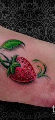 фото тату клубника (Strawberry Tattoos) (значение) – пример рисунка – 043 tatufoto.com