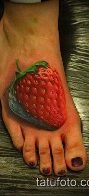 фото тату клубника (Strawberry Tattoos) (значение) – пример рисунка – 044 tatufoto.com