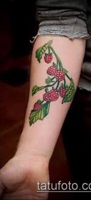 фото тату клубника (Strawberry Tattoos) (значение) – пример рисунка – 066 tatufoto.com