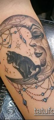 фото тату кот (значение) – пример интересного рисунка тату – 005 tatufoto.com