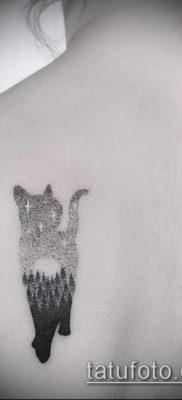 фото тату кот (значение) – пример интересного рисунка тату – 009 tatufoto.com