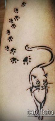 фото тату кот (значение) – пример интересного рисунка тату – 031 tatufoto.com