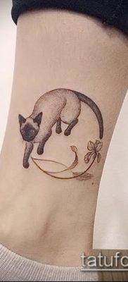 фото тату кот (значение) – пример интересного рисунка тату – 044 tatufoto.com