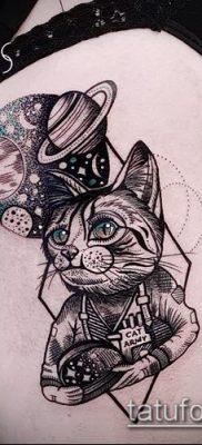 фото тату кот (значение) – пример интересного рисунка тату – 045 tatufoto.com