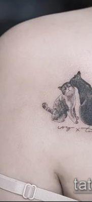 фото тату кот (значение) – пример интересного рисунка тату – 047 tatufoto.com
