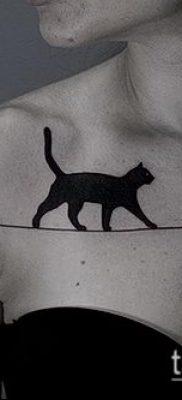 фото тату кот (значение) – пример интересного рисунка тату – 051 tatufoto.com