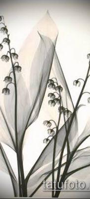 фото тату ландыши (lilies of the valley tattoo) (значение) – пример рисунка – 043 tatufoto.com