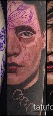 фото тату лицо (portrait tattoo) (значение) – пример рисунка – 003 tatufoto.com