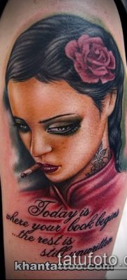 фото тату лицо (portrait tattoo) (значение) – пример рисунка – 004 tatufoto.com