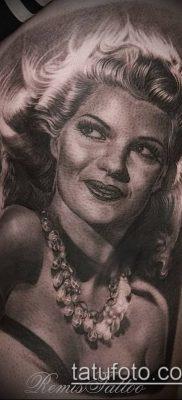 фото тату лицо (portrait tattoo) (значение) – пример рисунка – 011 tatufoto.com