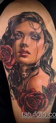 фото тату лицо (portrait tattoo) (значение) – пример рисунка – 014 tatufoto.com