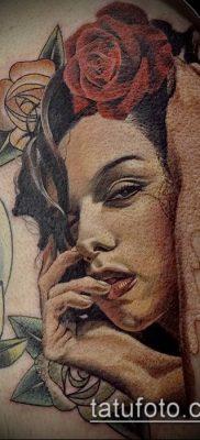 фото тату лицо (portrait tattoo) (значение) – пример рисунка – 015 tatufoto.com